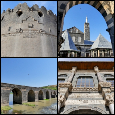 Diyarbakir Fortress and Hevsel Gardens by Clyde