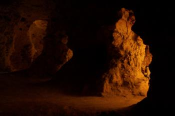 Neolithic Flint Mines at Spiennes by Ian Cade