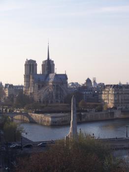 Paris, Banks of the Seine by Ian Cade