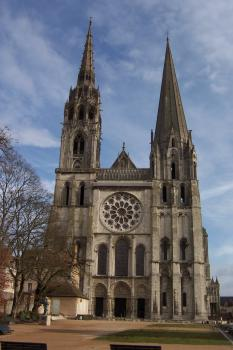 Chartres Cathedral by Ian Cade