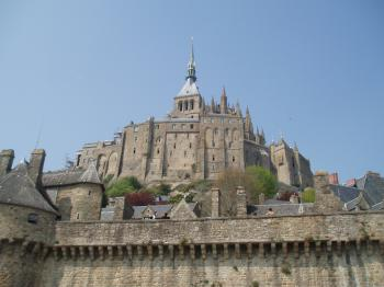 Mont-Saint-Michel by Ian Cade
