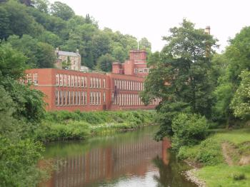 Derwent Valley Mills by Ian Cade