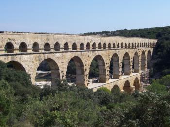 Pont du Gard by Ian Cade