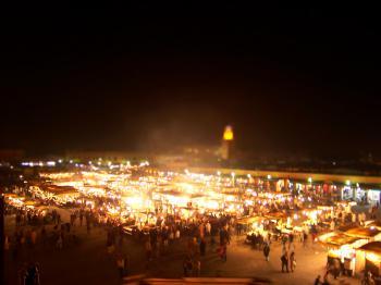 Medina of Marrakesh by Ian Cade