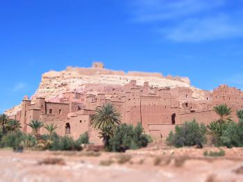 Ksar of Aït Ben Haddou by Ian Cade