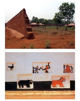 Royal Palaces of Abomey by Solivagant