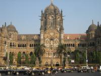 Chhatrapati Shivaji Terminus by Christer Sundberg