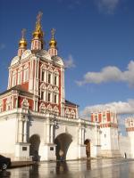 Novodevichy Convent by Frederik Dawson