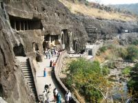 Ajanta Caves by Christer Sundberg