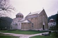 Studenica Monastery by Florencio Moreno-Anega