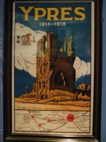 Sites funéraires et mémoriels de la Première Guerre mondiale (Front Ouest) (Belgium) (T) by Els Slots