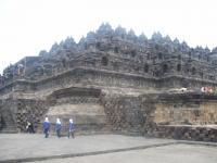 Borobudur by Elisabeth Fransisca Situmorang