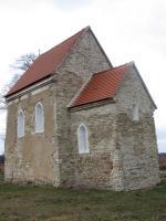 Sites of Great Moravia: Slavonic Fortified Settlement at Mikulcice - Church of St.Margaret at Kopcani (T) by David Berlanda