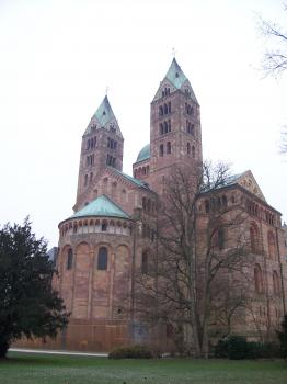 Speyer Cathedral by Ian Cade