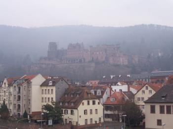 Heidelberg, town and castle (T) by Ian Cade