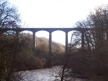 Pontcysyllte Aqueduct and Canal  by Ian Cade