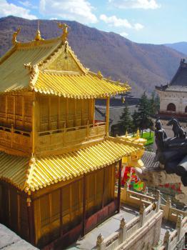 Mount Wutai by Frederik Dawson