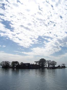 Kunta Kinteh Island by Ian Cade