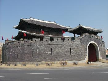 Hwaseong Fortress by Kyle Magnuson