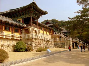 Seokguram Grotto and Bulguksa Temple by Kyle Magnuson