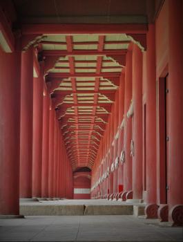 Jongmyo Shrine by Kyle Magnuson